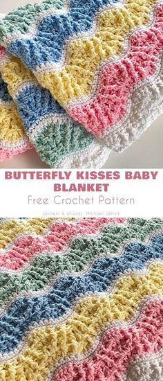Crochet Baby Booties Tutorial, Crochet Baby Blanket Free Pattern, Baby Afghan Crochet, Crochet Quilt, Free Crochet, Baby Afghans, Crochet Blankets, Baby Blankets, Bobble Stitch Crochet