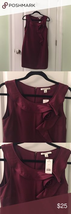Banana Republic Cocktail Dress (with tags) Beautiful silk dress with rosette detail. Fully lined. Banana Republic Dresses