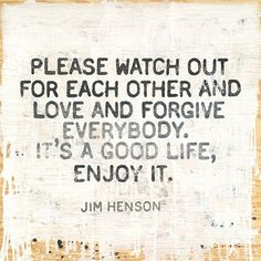 The Sugarboo Designs Jim Hensen gallery wrapped print can cheer up any room and spread a positive message.