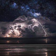 Ideologies separate us.  Dreams and anguish bring us together. Eugene Ionesco  Stunning view at Ormond Beach via @jasonweingart  #outdoors #nature #beauty #storm #lightning #beach #sky #ormondbeach #florida via @prAna Instagram. Don't follow us yet? Add us any time by going to: instagram.com/prAna