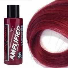 Manic Panic Amplified Hair Dye, Vampire Red at I Kick Shins