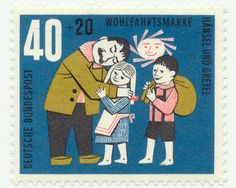 hansel and gretel stamp