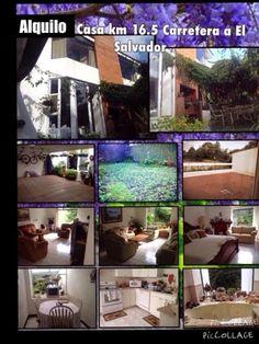 CASAS GT: Alquilo Casa Km 16.5 Carretera a El Salvador