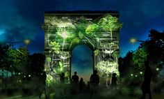 These Forests Of Light Are Projected On Famous Buildings, And You're In The Picture | Co.Exist | ideas + impact