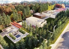 Famen Temple Zen Meditation Center Winning Proposal  / OAC, Courtesy of OAC