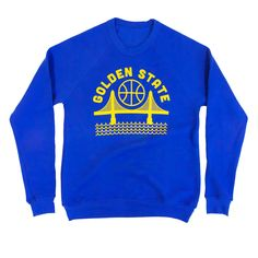 Golden State Crew Neck Sweatshirt | Culk