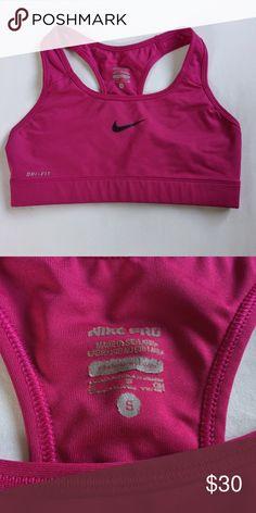 Nike Pro Pink/Purple Sports Bra Worn a few times but still in perfect condition. Nike Intimates & Sleepwear Bras