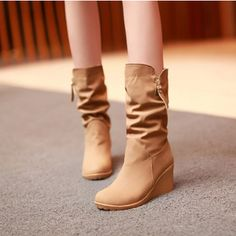 Hopefully Likes to wear this on Seasons Holiday coming!^^ #fashion#boots#holidays#something#new#beauty