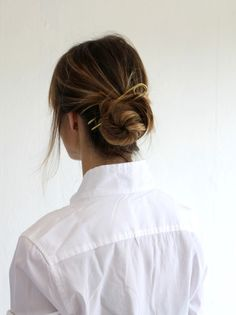 MILLE | Annika Kaplan Brass Hairpin