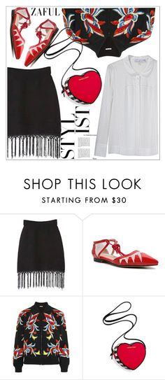 """""""Zaful"""" by teoecar ❤ liked on Polyvore featuring Alice + Olivia, Victoria's Secret and See by Chloé"""