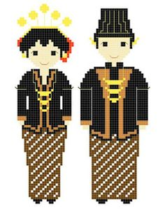 Idea Kristik: Pola Kristik Gratis : Pernikahan Jawa