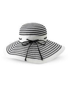 BADGLEY MISCHKA Floppy Stripe Hat