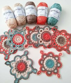 Crochet Square Lace Motif (Video Tutorial) – Page 3 Motif Mandala Crochet, Granny Square Crochet Pattern, Crochet Blocks, Crochet Squares, Crochet Blanket Patterns, Crochet Doilies, Crochet Flowers, Flower Granny Square, Mandala Rug