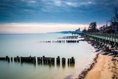 Long exposure of the waterfront in North by JonBilousPhotography