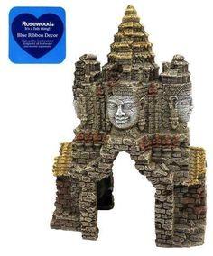 Blue Ribbon Aquarium Decor Angkor Wat Temple Gate