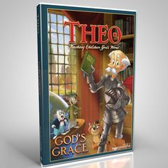 God's Grace is the second volume in the Theo DVD series. It contains:    Episode 4: Armor of God (approx. 10 mins.)  Episode 5: Redemption (approx. 10 mins.)  Episode 6: New Birth (approx. 9 mins.)  Bonus episode entitled: The Good News (approx. 5 mins.)