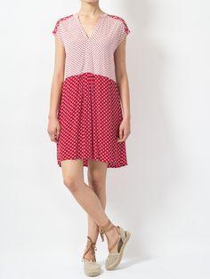Indi & Cold Printed Dress   Maze Clothing