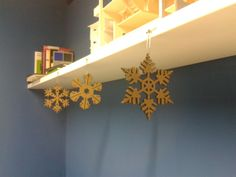 Snow Flakes (Christmas Decorations) by Andrea Cimarelli, via Behance