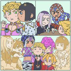 Oww my heart🥺 Comic Anime, Manga Anime, Anime Art, Jojo's Bizarre Adventure Anime, Jojo Bizzare Adventure, Jojo's Adventure, Jojo Anime, Jojo Memes, Fanart