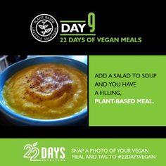 Day 9: 22 Days of #Vegan Meals #22daysnutrition