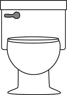 Toilet om te bekleven met bvb toiletpapier