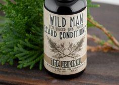 Wild Man Beard Oil Conditioner $11.95 by Wild Rose Herbs