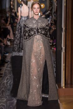 Valentino Fall 2013 Couture Fashion Show - Maartje Verhoef (Women)