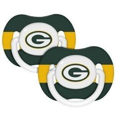 Green Bay Packers Baby Pacifiers - 2 Pack by Baby Fanatic, http://www.amazon.com/dp/B003YI30UW/ref=cm_sw_r_pi_dp_u6JVrb0PCFE4M