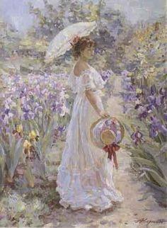 Alexander Averin - Amongst Irises