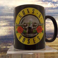 NEW IN STOCK! GUNS N ROSES Official Merchandise Ceramic Mug GUN LOGO NEW http://ift.tt/1R19p31
