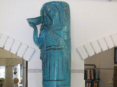 ANGELO UNGANIA Vintage Ceramic, Porcelain, Pottery, Clay, Sculpture, Statue, Ceramics, Shapes, Design