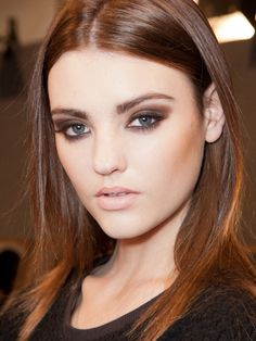 How-to: The '90s supermodel makeup at DSquared² S/S '13 http://beautyeditor.ca/2013/03/21/how-to-the-90s-supermodel-makeup-at-dsquared%C2%B2-ss-13/