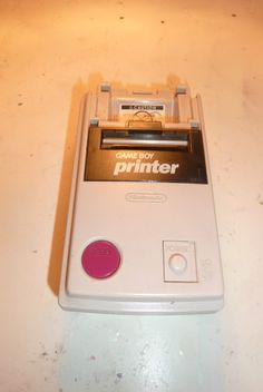 Gameboy Printer Impresora Nintendo Gameboy Unica En Ml!!