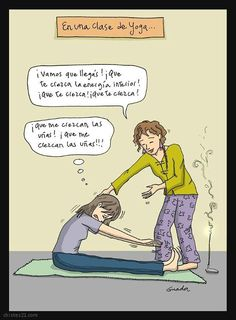 yoga chiste - Buscar con Google