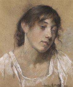 Portrait of a working girl--Annie Ayrton