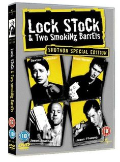 Lock, Stock And Two Smoking Barrels 2 Disc Special Edition 1998 DVD: Amazon.co.uk: Jason Flemyng, Dexter Fletcher, Nick Moran, Jason Statham, Steven Mackintosh, Vinnie Jones, Sting, Nicholas Rowe, Nick Marcq, Charlie Forbes, Lenny McLean, P.H. Moriarty, Frank Harper, Steve Sweeney, Huggy Leaver, Guy Ritchie, Matthew Vaughn: Film & TV