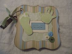 Baby Boy Mini Album. $20.00, via Etsy.
