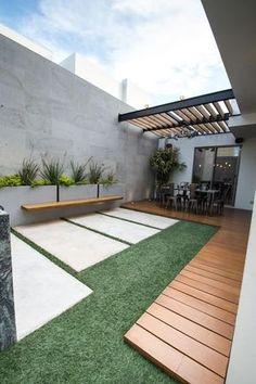 : Terrazas de estilo por TAMEN arquitectura