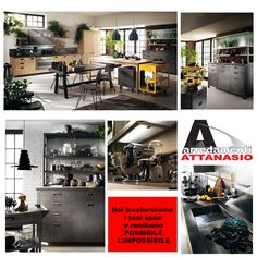 23 best CUCINE SCAVOLINI DIESEL images on Pinterest | Modern ...