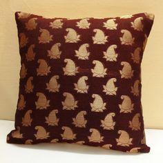 Silk Throw Pillow  Decorative Silk Pillow Cover  by DesiPillows, $15.00