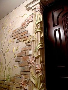 Stunning art ideas in decorating the walls Alexei Cotelea works with his hands just amazing things. Ordinary at first glance, finishing wa.