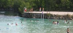 6. White Star Quarry (Gibsonburg) Quarry Lake, Sandusky Ohio, Camping In Ohio, Swimming Holes, Abandoned Places, Abandoned Castles, Abandoned Mansions, Day Trips, Places To See