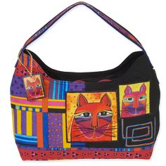 Shop where every purchase helps shelter pets! Laurel Burch Whiskered Cats Hobo - from $24.00