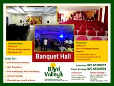 AC banquet halls in Chinchwad for professional corporate events at #HotelBirdValley