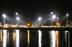 Great view of Banner Island Ballpark from the Port of Stockton!