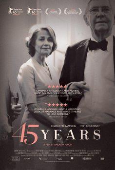 "El Acorazado Cinéfilo - Le Cuirassé Cinéphile: ""45 years"" (2015). A. Haigh - Carmen Parra López. ..."
