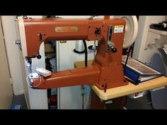 HEAVY DUTY LEATHER BUSTER SEWING MACHINE NO WALKING FOOT NEEDED - YouTube