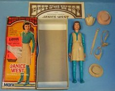 Image detail for -Vintage Marx Janice West from Johnny West Series EXIB Completed