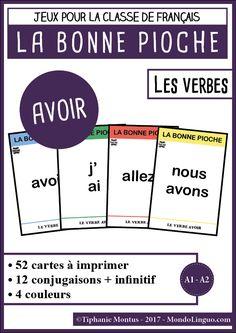 BP - le verbe Avoir | Mondolinguo - Français
