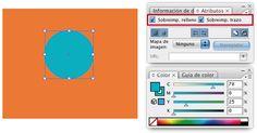 Segundo Documento-Guía sobre la Sobreimpresión en Illustrator, en el cual explico cómo se efectúa la sobreimpresión de elementos.